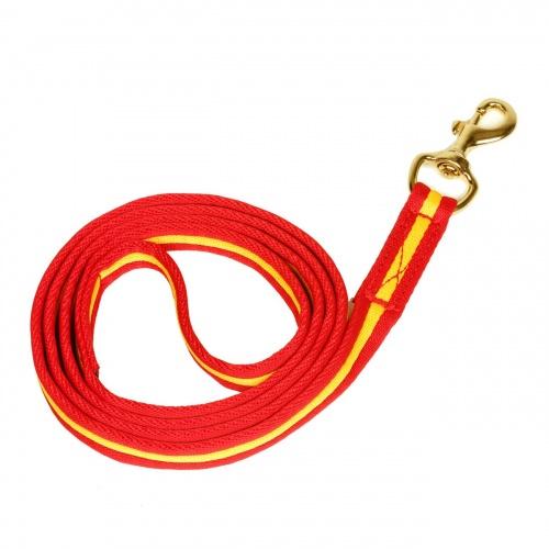 Führstrick Hierro rot/ gelb