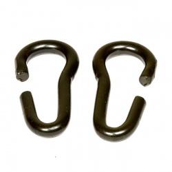 Kinnkettenhaken schwarz